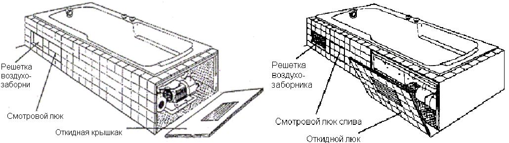 установка с люком+++